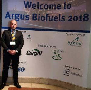 Bo Gleerup Nordic Green Argus Biofuels 2018